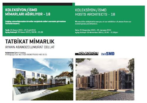 Koleksiyon/ İzmir SMD Mimarları Ağırlıyor 18: Tatbikat Mimarlık
