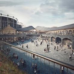 Londra Heatherwick'in Coal Drops Yard Dönüşüm Projesini Onayladı