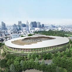 Tokyo Ulusal Stadyumu'nda Zaha Hadid Yerine Kengo Kuma!