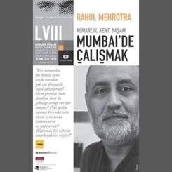 Yunus Aran Konferansları 58. Buluşma: 'Mimarlık, Kent, Yaşam: Mumbai'de Çalışmak'