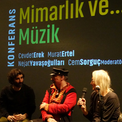 'Mimarlık ve Müzik' Konferansı SALT Galata'da Gerçekleşti