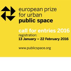 European Prize for Urban Public Space 2016