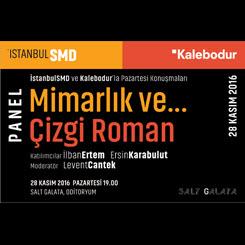 İstanbulSMD'den Mimarlık ve Çizgi Roman Buluşması