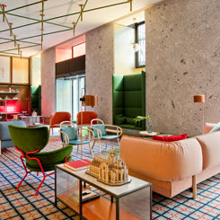 Milano Room Mate Hotel'e Patricia Urquiola İmzası