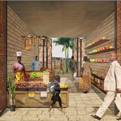 PAB Mimarlık Senegal'de Kent Pazarı Tasarlıyor