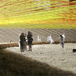 MoMA PS1 YAP'ın Yeni Kazananı Renkli Bir Gökyüzü Örüyor