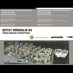 Boyut Mimarlık Proje Sergisi Çankaya Üniversitesi'nde