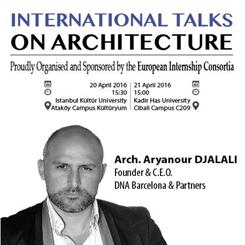 """""""Mimarlık Üzerine Uluslararası Konuşmalar"""""""