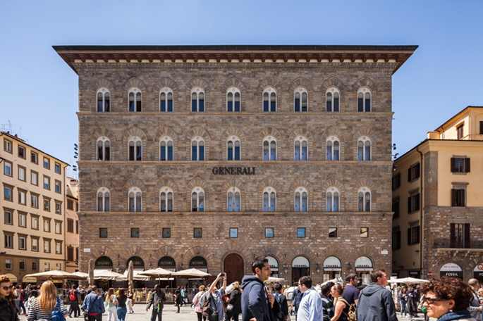 Piazza Della Signoria'da bir yapı, Floransa