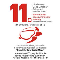 """Uluslararası Genç Mimarlar Fikir Projesi Ödülleri ve Sergisi """"Engelliler için Gezici Müze"""""""