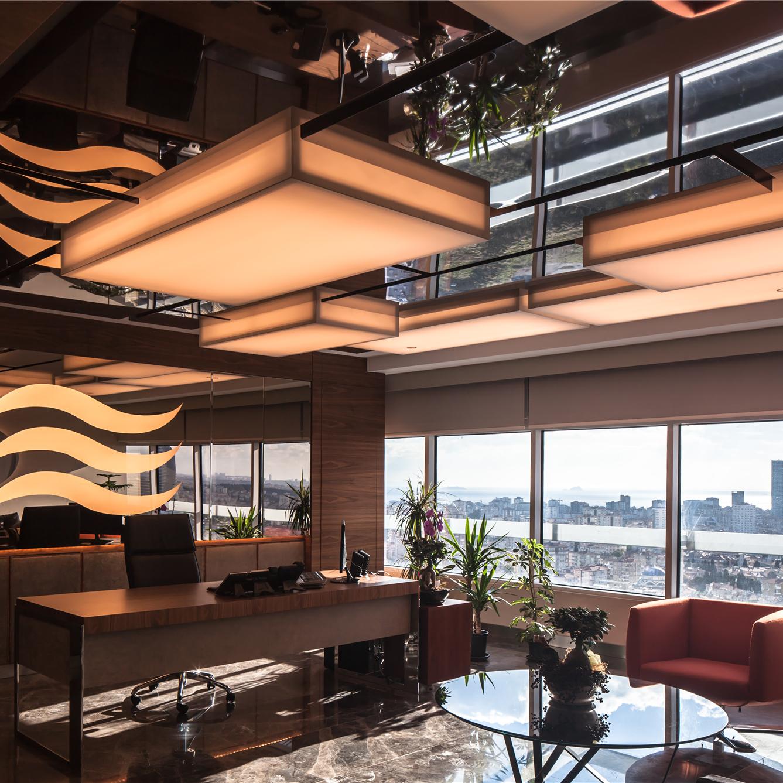 MDArch'tan Dinamik ve Kullanıcı Odaklı Bir Ofis