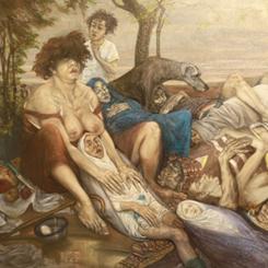 Sanatçılar 'Alamet-i Farika'ları ile Galeri Eksen'de
