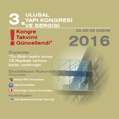 3. Ulusal Yapı Kongresi ve Sergisi
