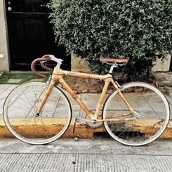 Çelik Kadar Güçlü Bambu Bisiklet; Bambike