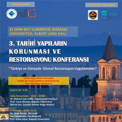 3. Tarihi Yapıların Korunması ve Restorasyonu Konferansı