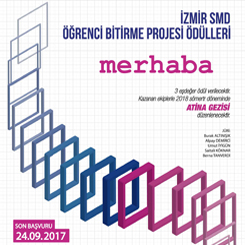 İzmirSMD Öğrenci Bitirme Projesi Ödülleri 2017 Sonuçları Açıklandı