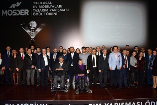 13. Ulusal Ev Mobilyaları Tasarım Yarışması Ödülleri Sahiplerini Buldu