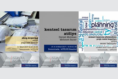 Özyeğin Üniversitesi Mimarlık ve Tasarım Fakültesi Atölye Programları