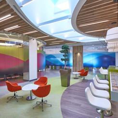 EDDA Mimarlık'tan Renkli Ofis Kurgusu