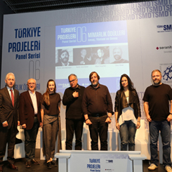 """TSMD Mimarlık Merkezi'nde """"Mimarlık Ödülleri"""" Konuşuldu"""