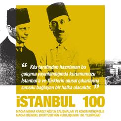 """Macar Mimarın Gözünden """"İstanbul 100"""""""