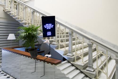 SALT Galata'ya Sanatsal ve Mimari Müdahaleler