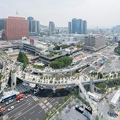 MVRDV'den Gökyüzü Bahçesi; Seoullo 7017