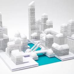 Lego'ya Rakip Şehir Planlama Seti