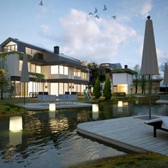 Iglo Architects'ten Doğayla İç İçe Bir Yaşam Önerisi