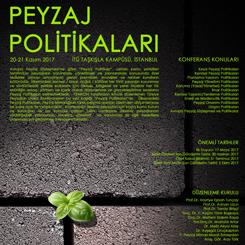 Türkiye Peyzajları II. Ulusal Konferansı: Peyzaj Politikaları