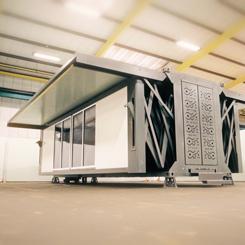 10 Dakikada Monte Edilebilen Prefabrik Ev