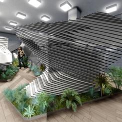 Biyofilik Tasarım Yarışması'nın Birincisi PIN Architects!