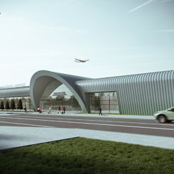 GMW MIMARLIK'tan Muş Havalimanı Yeni Terminal Binası