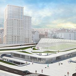 Gaziosmanpaşa Karadeniz Mahallesi Spor Zeminaltı Otoparkı ve Pazar Yeri