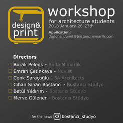 Design & Print Workshop for Architecture Students