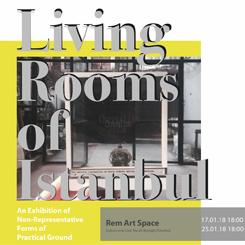 İstanbul'un Oturma Odaları | Pratik Zeminde Temsil Dışı Formlar Üzerine Bir Sergi