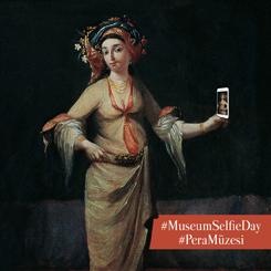 Pera Müzesi'nden Selfie Günü Sürprizi