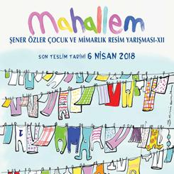 Şener Özler Çocuk ve Mimarlık Resim Yarışması-XII : MAHALLEM