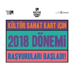 İKSV Kültür Sanat Kart 2018 Başvuruları