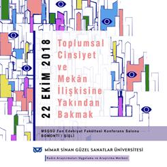 Konferans: Toplumsal Cinsiyet ve Mekana Yakından Bakmak