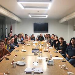 Mimarlar Odası İstanbul Şubesi Kadın Çalışma Grubu İlk Toplantısını Yaptı