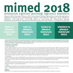 MimED 2018 Mimarlık Öğrencileri Proje Ödülleri