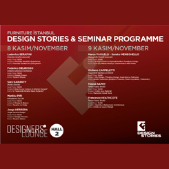Furniture İstanbul - Design Stories Seminerleri