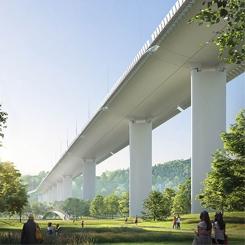 Renzo Piano Cenova'da Yıkılan Köprüyü Yeniden Tasarlıyor