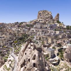 """""""Kapadokya'da İçinden Köy Geçen Otel"""""""