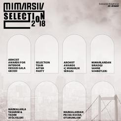 MIMARSIV Selection 2018 Programı Açıklandı