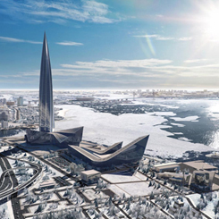 Avrupa'nın En Yüksek Binası; Lakhta Centre