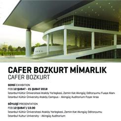 İKÜ Mimarlık Fakültesi Cafer Bozkurt'u Ağırlıyor