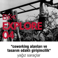 """BKA Explore 04: """"Coworking Alanları ve Tasarım Odaklı Girişimcilik"""""""