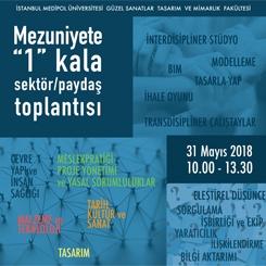 """""""Mezuniyete '1' Kala"""" Sektör Toplantısı"""